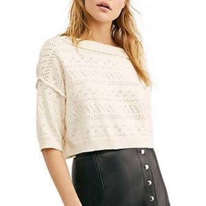 free people | sandcastle sweater